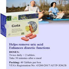 Viên uống giảm đau khớp LANUI GOTA