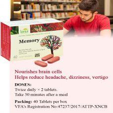 Viên uống LANUI MEMORY - Bổ Não, Tăng cường trí nhớ