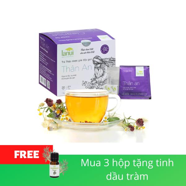 Trà thảo dược thải độc LANUI Thân An - CLEANSE TEA